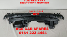 FORD FIESTA  MK 9  FRONT  TOP PLASTIC  ABSORBER  SECTION   2013   2014  2015  2016   NEW (3) (4)